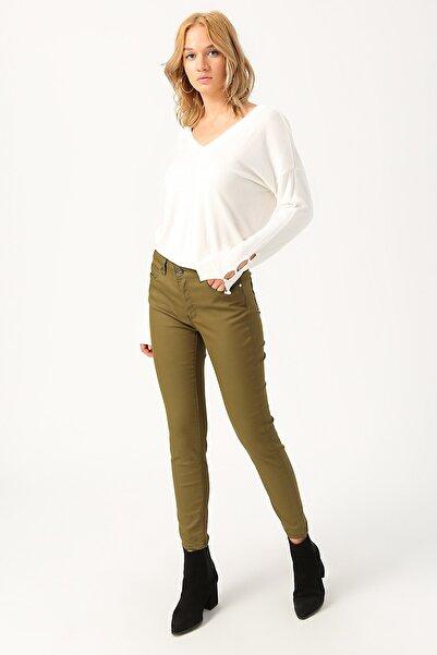 Fabrika Kadın Haki Pantolon 503760082