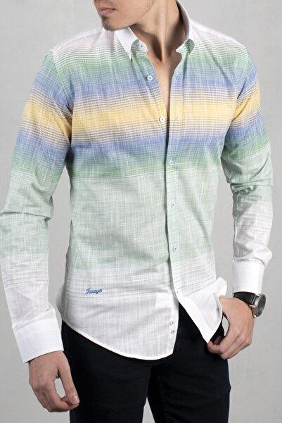DeepSEA Kadın Beyaz Uzun Kol Gömlek 2006022