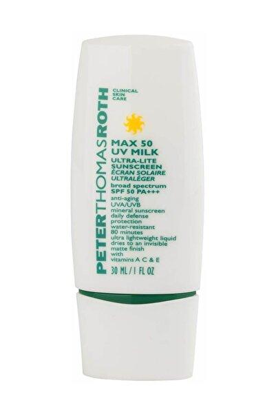 PETER THOMAS ROTH Max 50 Uv Milk Ultra-lite Sunscreen Spf50 30 Ml