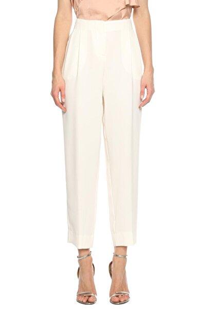 PHILOSOPHY FERRETTI Kadın Beyaz Klasik Pantolon