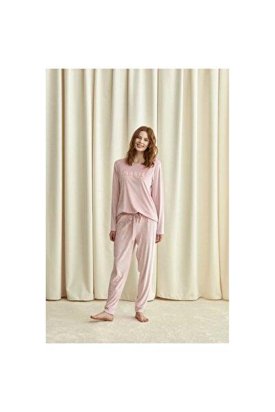 Catherine's kadın Pembe Pijama Takımı