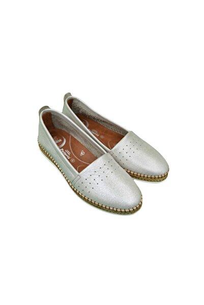 Polaris 103209PZ1FX Altın Kadın Klasik Ayakkabı 101000661