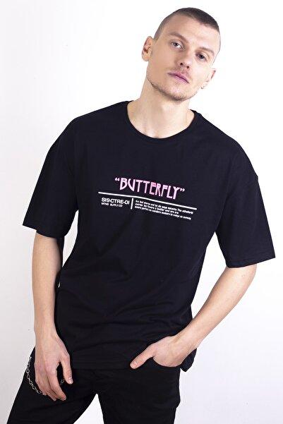 ALBATROS Unisex Siyah Tshirt