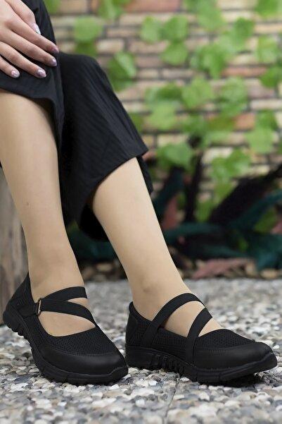 Riccon Kadın Siyah Günlük Ayakkabı 0012601