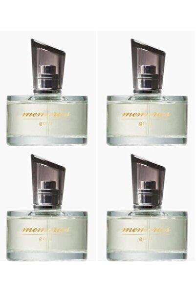Huncalife Memories Gold Kadın Parfüm Edt 60 ml x 4 Adet