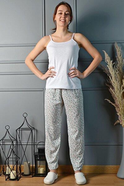 PİNKMARK Kadın Gri  Renkli Pijama Altı Pmplt24157