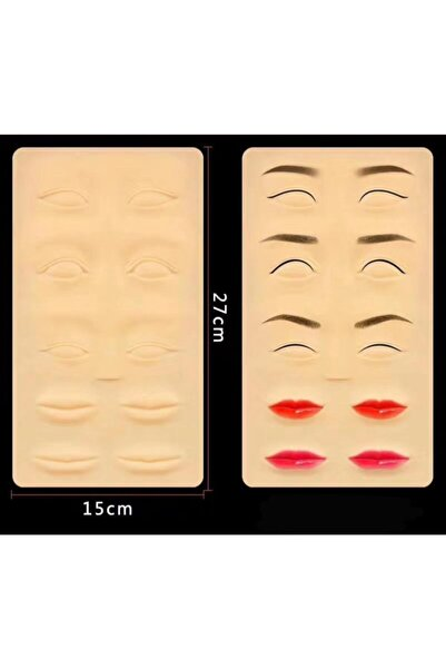 Bmx Kalıcı Makyaj Micropigmentasyon Çalışma 3d Dudak&eyeliner&kaş Lateksi 1 Adet