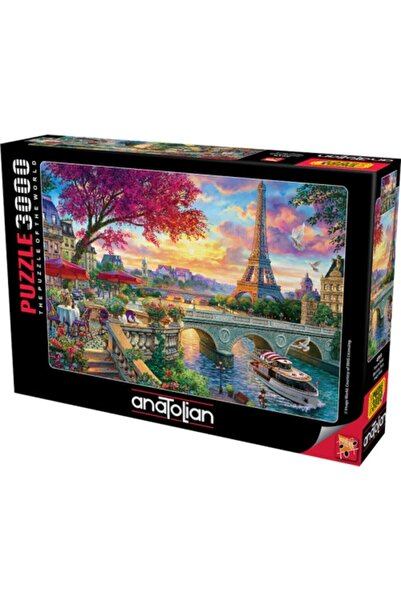 Anatolian Puzzle Pariste Bahar 3000 Parça Puzzle