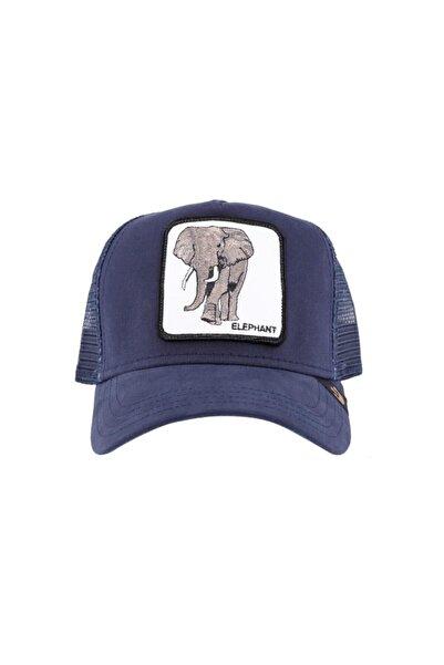 Goorin Bros Unisex Lacivert Elephant Şapka
