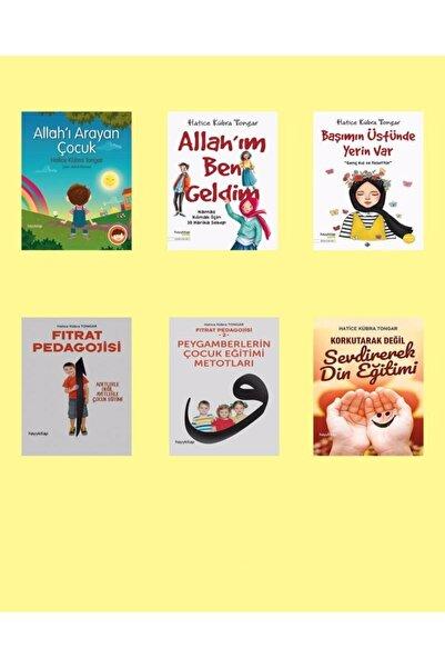 Hayykitap Hatice Kübra Tongar 6'lı Çocuk Eğitim Seti + Hediye Kitap