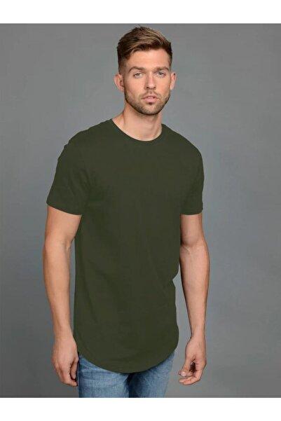 Jack & Jones JJENOA TEE SS CREW NECK N Yeşil Erkek T-Shirt 101069432