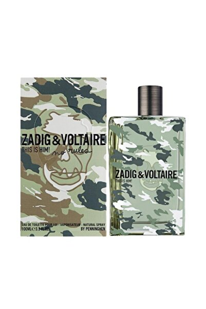 Zadig&Voltaire This Is Him! Edt 100 ml Erkek Parfüm 3423478459458