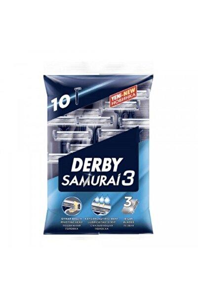 Derby Samurai3 2 x 10'lu + 3 x 50 ml Arko Traş Sonrası Krem