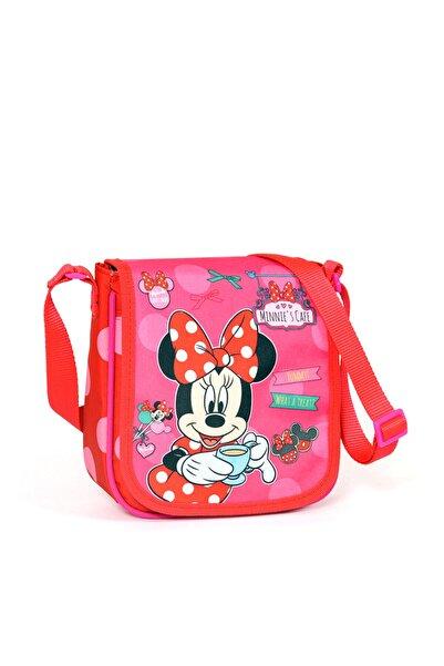 MINNIE Yaygan Minnie'S Cafe Fashion Koleksiyonu Pembe Omuz Çantası /