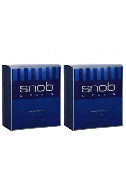 Snob Klasik Erkek Parfüm 100ml X 2 Adet