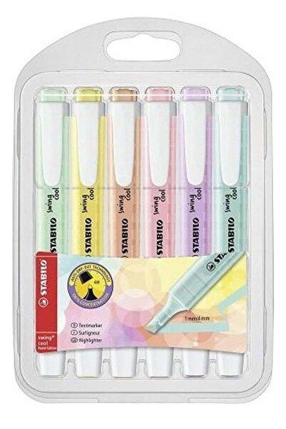 Stabilo Cool Pastel Kalem 6 lı Paket