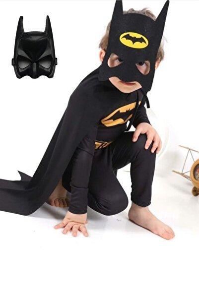 Armağan Oyuncak Batman Çocuk Kostümü Maskeli - Pelerinli Ve 2 Adet Maskeli Basic Kostüm