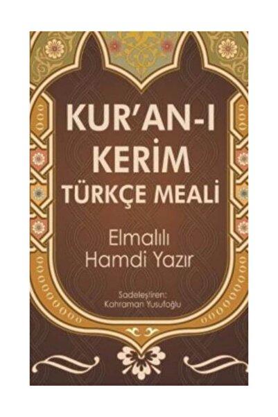 Yılmaz Basım Kur'an-ı Kerim Türkçe Meal Elmalılı Muhammed Hamdi Yazır