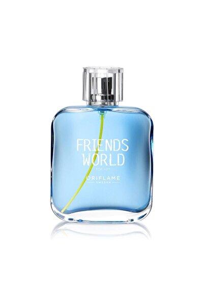 Oriflame Friends World  Edt 75 ml Erkek Parfüm ELİTKOZMETİK45009