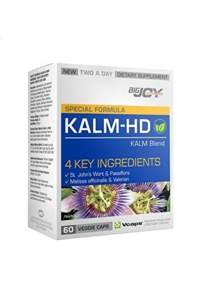 Big Joy Vitamins Kalm-hd 60 Bitkisel Kapsül