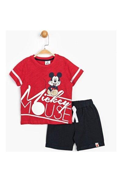 Mickey Mouse Disney Lisanslı Çocuk Şortlu Takım 15463