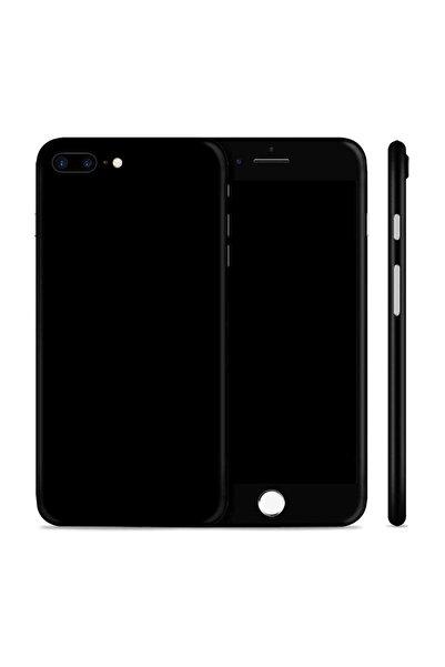 Renkli Garaj iPhone 7 Plus Mat Siyah Telefon Kaplama