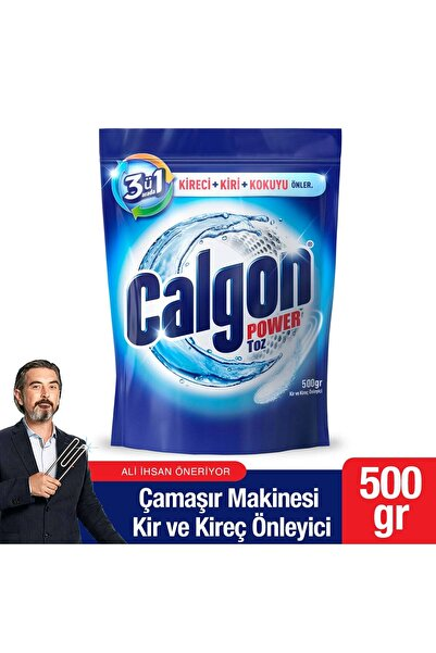 Calgon Çamaşır Makinesi Toz Kir ve Kireç Önleyici 500 gr