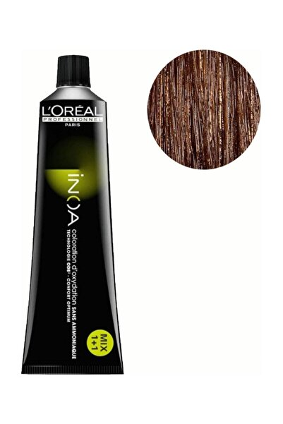 İNOA Inoa 5,35 Açık Kestane Dore Akaju Saç Boyası 3474630414143