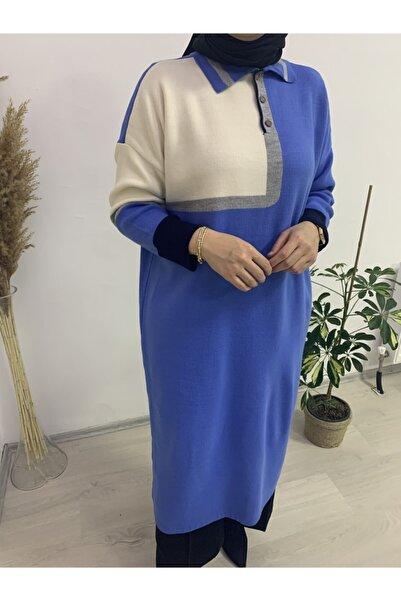 Qu Style Tuhara Butik Triko Tunik - Elbise