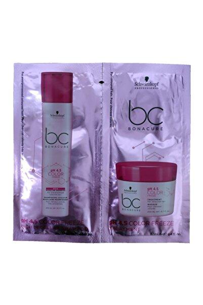 Bonacure Ph 4.5 Color Freeze Rich Şampuan 12 ml - Maske 12 ml