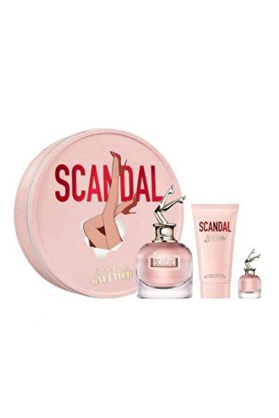 Jean Paul Gaultier Scandal Edp 80 ml Ve 10 ml Kadın Parfüm  + 75 ml   Body Lotion Set 8435415039840