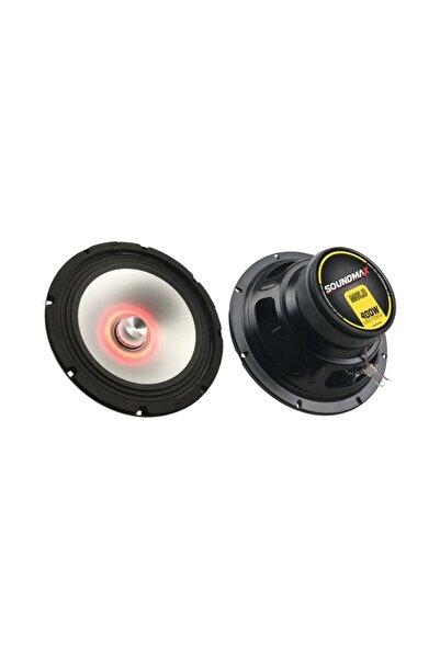 Soundmax Sx-m8ld 20 Cm Led Tekli Midrange Speaker 400 W - Tekli