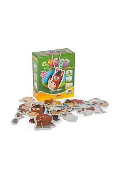 DIYTOY Puzzle Çiftlik 3 4 5 6 7