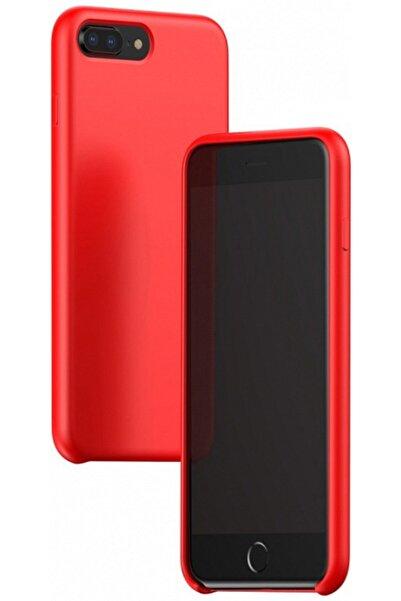 Baseus iPhone 7 / iPhone 8 Original LSR Kılıf Kırmızı