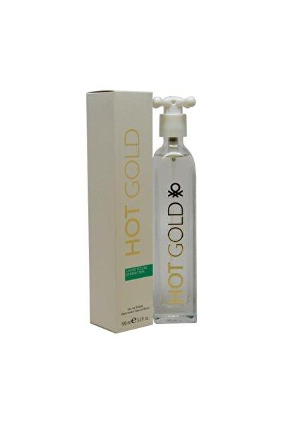 Benetton Hot Gold Edt 100 ml Kadın Parfümü 3605473176725