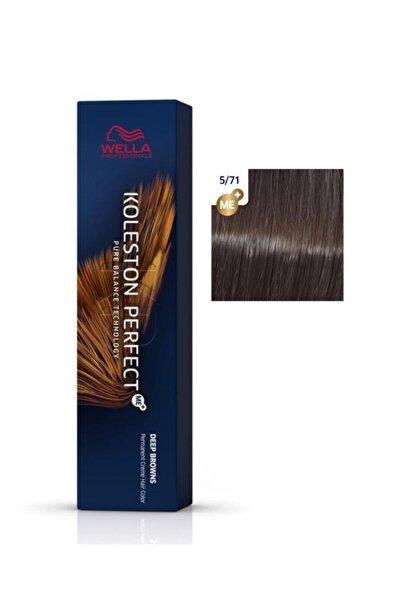 Wella Koleston Perfect Me+ Saç Boyası 5/71 Gizemli Kahve 60 ml