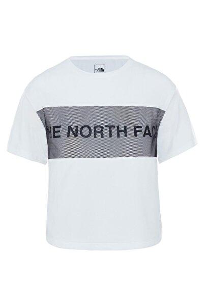 THE NORTH FACE Kadın Beyaz Train N Logo T-shirt