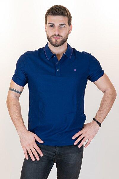 Giovane Gentile Erkek Lacivert T-shirt