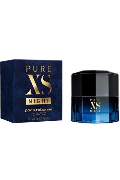 Paco  Rabanne Pure Xs Night Edp 50 ml Erkek Parfümü 3349668573868