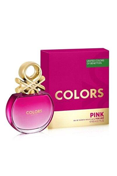 Benetton Colors Pink Edt 80 ml Kadın Parfümü  8433982003844