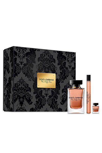 Dolce Gabbana The Only One Edp 100 + Edp 10 + Edp 7,5 ml Kadın Parfüm Seti 3423478775657