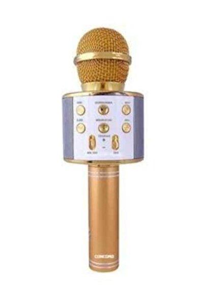 Concord C-792 Bt/tf/usb/fm Rose Gold Karaoke Mikrofon
