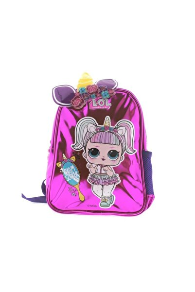 LOL Kız Çocuk Pembe Fashion Unicorn Sırt Çantası 20473