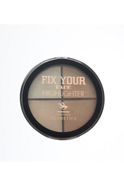 G Sport POLO Cosmetics Fıx Your Face Hıghlighter 01