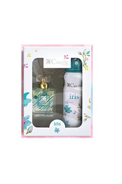 Cecile Irıs Edt 55 ml Kadın Parfüm Ve 150 ml Deodorant Set