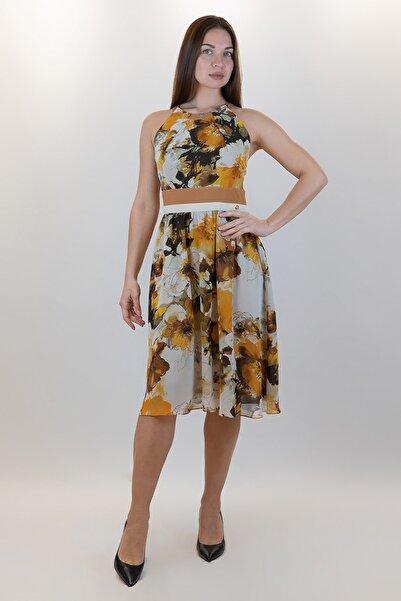 GİZİA Kadın Sarı Elbise