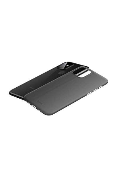 Baseus Wing Case Iphone 11 6.1 2019 Ultra Ince Lux Mat Şeffaf Kılıf Füme