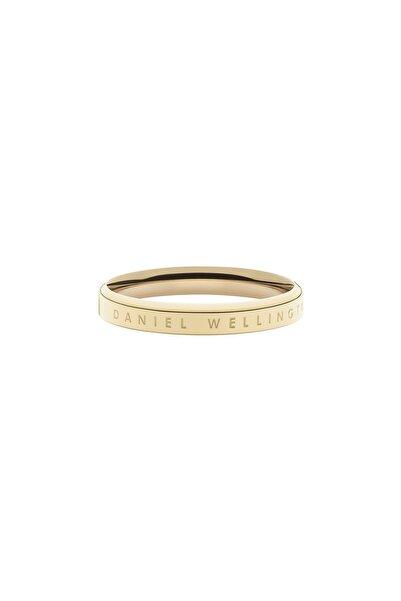 Daniel Wellington Classic Ring Yellow Gold  60 Çelik Yüzük
