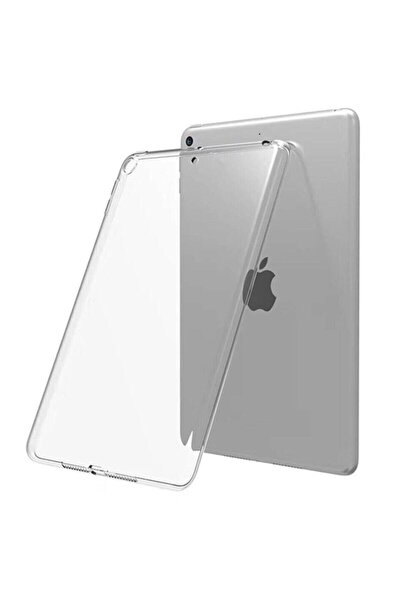 MOBAX Ipad Mini 5 Uyumlu İnce Arka Yumuşak Silikon Kılıf A2133 A2124 A2125 A2126 Şeffaf