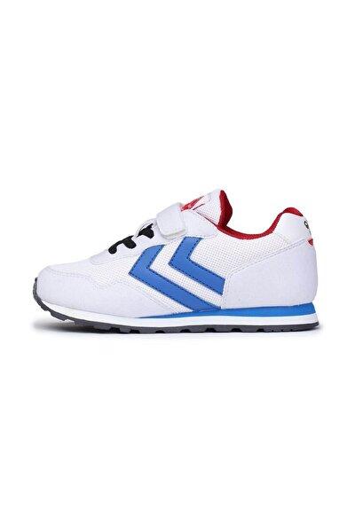 HUMMEL Spor Ayakkabı Thor Jr- Beyaz Mavi - 26